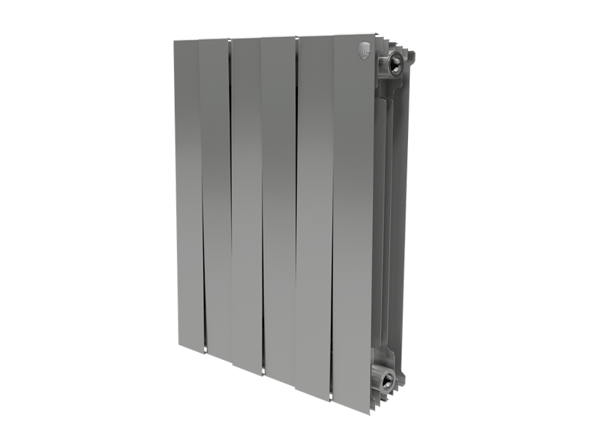 Оборудование Радиатор Royal Thermo PianoForte 500/Silver Satin - 6 секц.
